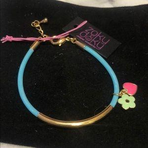 Super Stylish Kids Bracelet Rubber,Enamel Charms